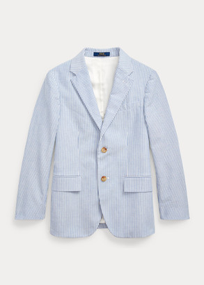 Ralph Lauren Polo Seersucker Suit Jacket