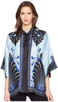 Versace Camicia Donna Tessuto Three-quarter Sleeve Shirt Women's Clothing