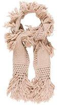 UGG Rib Knit Wool-Blend Scarf