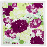 Burberry Multicolor Flower-Printed Scarf