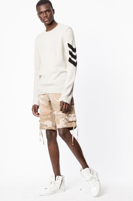 Zadig & Voltaire Pidji Camou Shorts