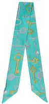 Tiffany & Co. Printed Silk Ascot w/ Tags