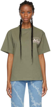Aries Green Classic Temple T-Shirt