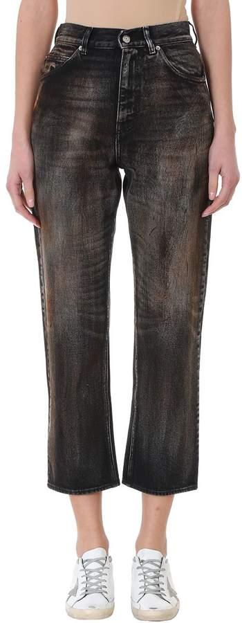 Golden Goose Komo Cropped High Waist Jeans