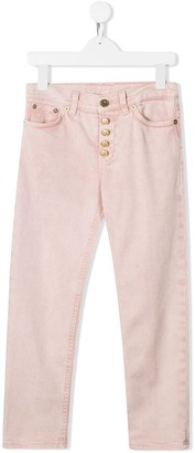 Dondup Kids Button-Up Trousers