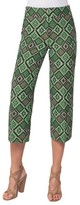 Akris Punto Women's Madison Print Jacquard Crop Pants