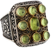 Konstantino Two-Tone Peridot Ring