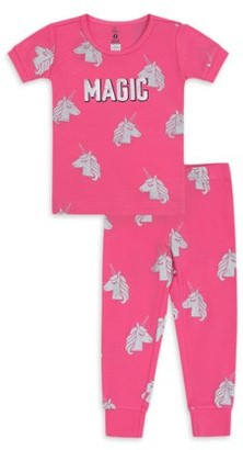 Petit Lem Girls 8-14 Magic Unicorn Pajama Set