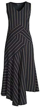 Lafayette 148 New York Women's Ashlena Asymmetric Dress - Size 0