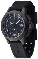 Bloomingdale's Ritmo Mundo Quantum II Collection Stainless Steel and Black Aluminum Watch, 43mm