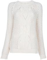 Vanessa Bruno Athé Open-knit jumper
