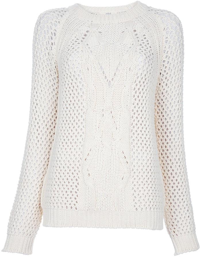 Vanessa Bruno Open-knit jumper