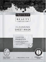 Beauty Infusion Charcoal & Probiotics Sheet Mask