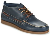 Sperry A/O WEDGE CHUKKA LEATHER MARINE