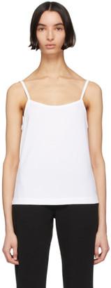Calvin Klein Underwear White Cotton Camisole