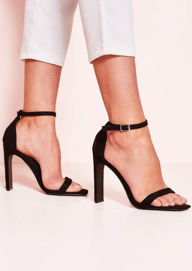 a56e7ce78a Missy Empire Open Toe Heels - ShopStyle UK