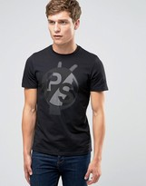 Paul Smith PS by T-Shirt With PS Logo In Slim Fit Black