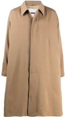 Jil Sander Oversized Single-Breasted Coat
