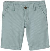 Petit Bateau Striped Shorts (Toddler Kids) - Green-3 Years