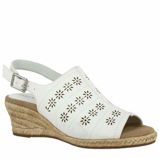 Easy Street Shoes Women's Joann Espadrille Wedge Sandal