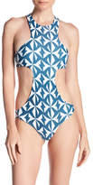 Mikoh Osaka Racerback Cutout One-Piece Swimsuit