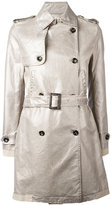 Golden Goose Deluxe Brand double-breasted trench coat - women - Cotton - XS