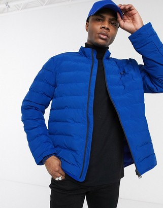 Fred Perry puffer jacket in blue
