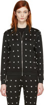 McQ by Alexander McQueen Black Swallows Bomber Jacket