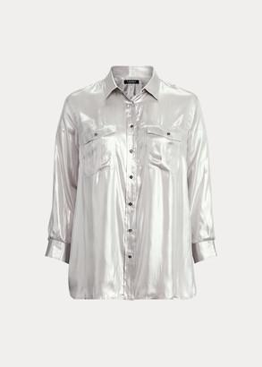 Ralph Lauren Metallic Patch Pocket Shirt