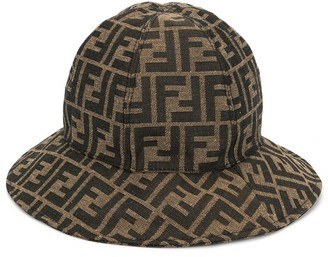 Fendi FF monogram sun hat