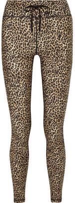 The Upside Leo Leopard-print Stretch Leggings - Leopard print