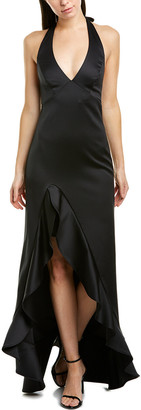 Halston High-Low Gown
