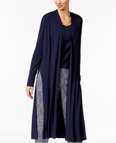 Eileen Fisher Lightweight Jersey Kimono Cardigan, Regular & Petite