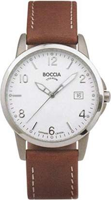 Gents Boccia Sport 604-01 Watch with Leather Strap