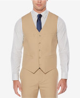 Perry Ellis Men's Slim-Fit Cotton Khaki Vest