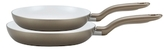 "T-Fal Initiatives Champagne 8"" & 10"" Fry Pans (Set of 2)"