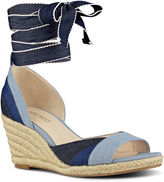 Nine West Jaxel Open Toe Wedge Sandal