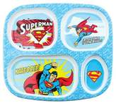 Bumkins DC Comics Superman Melamine Divided Plate