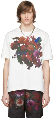 Dries Van Noten White Floral Print T-Shirt