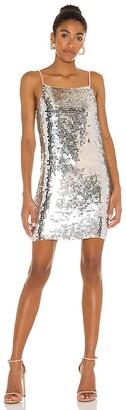 Karina Grimaldi Martina Beaded Mini Dress
