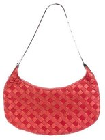 Bottega Veneta Metallic Intrecciato Handle Bag