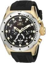 Invicta Men's 20309 Speedway Analog Display Japanese Quartz Black Watch