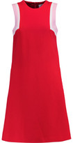 Goat Dolly Paneled Textured-Wool Dress