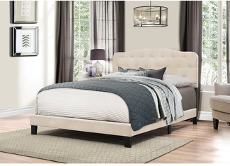 Hillsdale Furniture Nicole Linen Fabric Bed Headboard in One