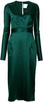 Dion Lee utility longsleeved dress