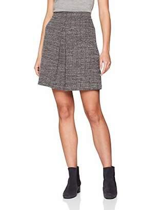 Esprit Women's 108ee1d012 Skirt, (Bordeaux Red 600), Medium