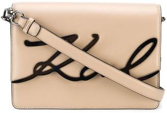 Karl Lagerfeld Paris K/Signature shoulder bag