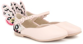 Sophia Webster Mini Chiara leather ballet flats