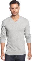 Alfani Men's V-Neck Sweater, Only at Macy's