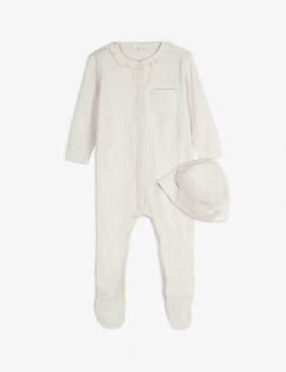 Chloé Cotton babygrow and hat set 1-9 months
